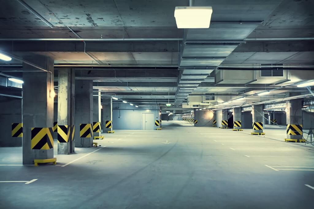 Detekcja gazu w garażu, tunelu i parkingu