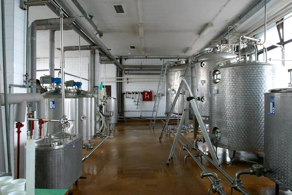 Detekcja gazu w mleczarni