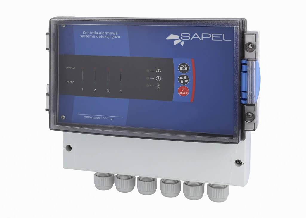 system detekcji gazów - centrale alarmowe