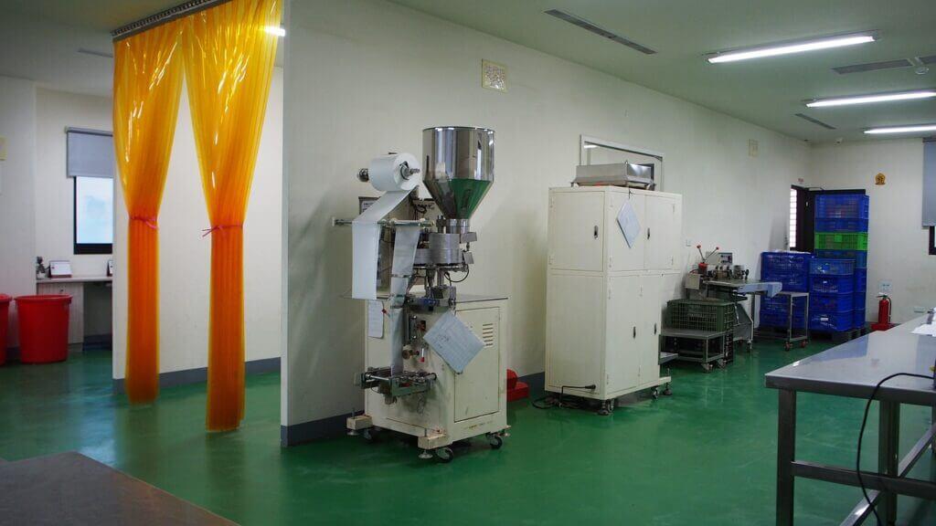 Detekcja gazu w zakładzie przemysłowym