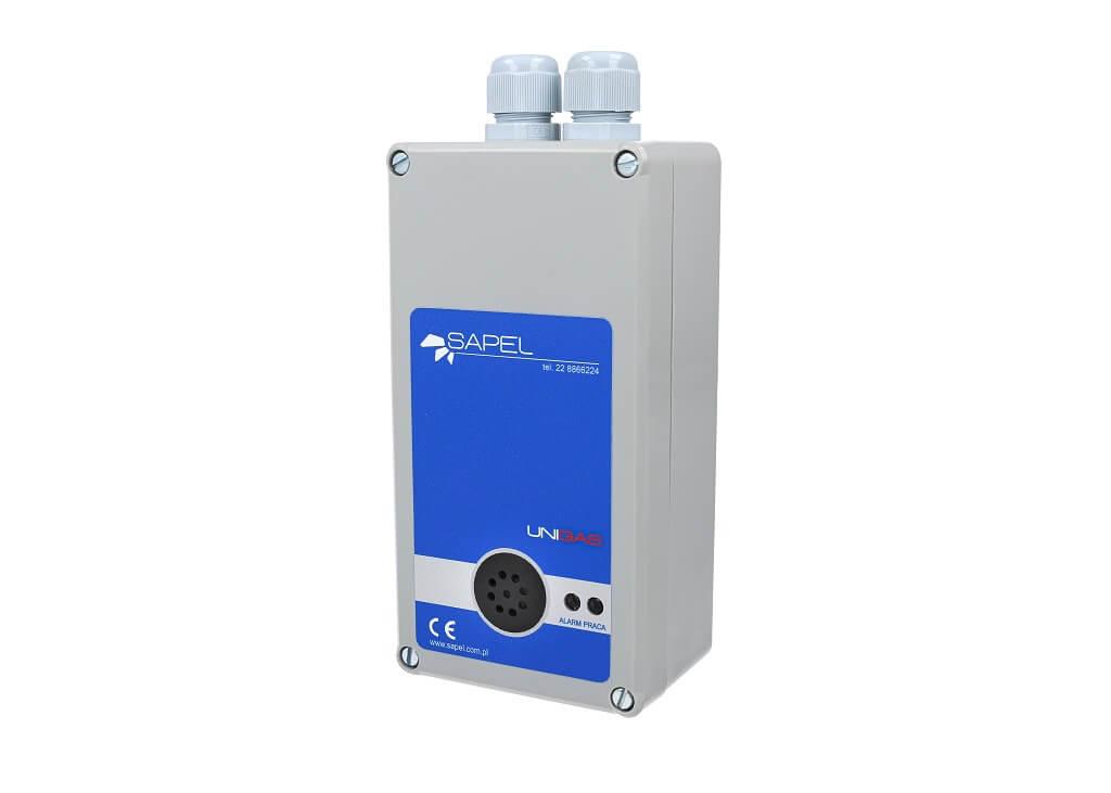 Detektor/czujnik tlenku węgla (CO) i gazu propan butan LPG - wykrywanie tlenku węgla